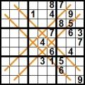 Sudoku - diagonale duble