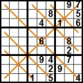 Sudoku diagonale X (3)