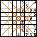 sudoku diagonale X (4)