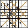 sudoku diagonale X (5)