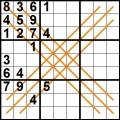 sudoku diagonale X (6)