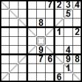 sudoku diagonale X (7)