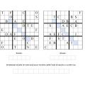 sudoku anagrama