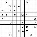 sudoku Simbol