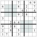 sudoku Regiuni impare