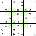 Sudoku - Regiuni pare si impare