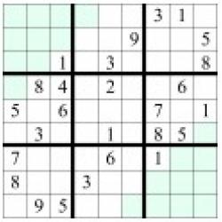 sudoku in oglinda