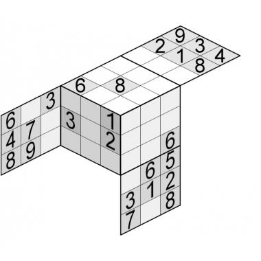 sudoku 3 D- solutie