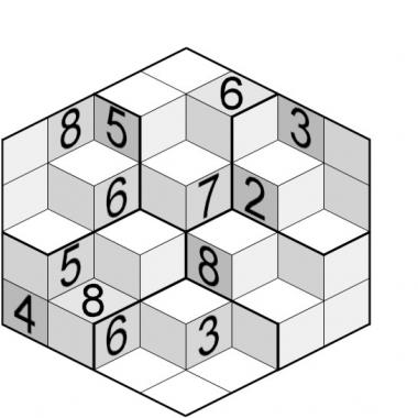 sudoku cub - solutie