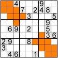 sudoku -extra regiuni