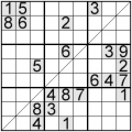 sudoku diagonala