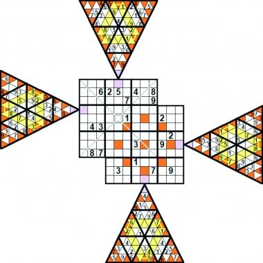 extra sudoku - solution