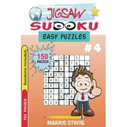 Jigsaw Sudoku - easy, vol. 4