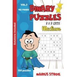 Binary Puzzles - medium, vol. 3