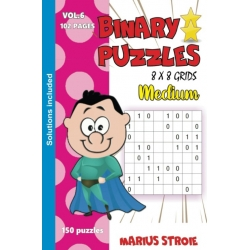 Binary Puzzles - medium, vol. 6