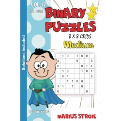 Binary Puzzles - medium, vol. 12