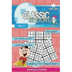 Classic Sudoku - very easy, vol. 8