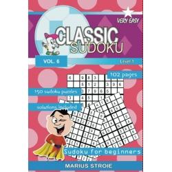 Classic Sudoku - very easy, vol. 6
