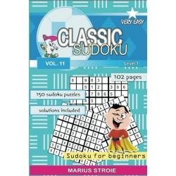 Classic Sudoku - very easy, vol. 11
