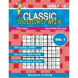 CLASSIC SUDOKU MIX - LEVEL 4 & 5,