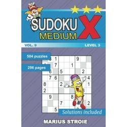 sudoku x - mediu
