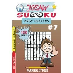 Jigsaw Sudoku - easy, vol. 7