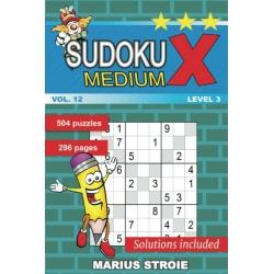 Sudoku X - medium, vol. 12