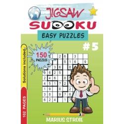 Jigsaw Sudoku - easy, vol. 5