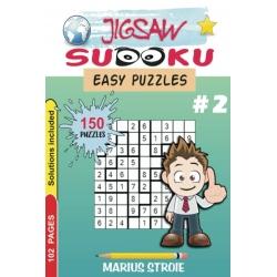 Jigsaw Sudoku - easy, vol. 2