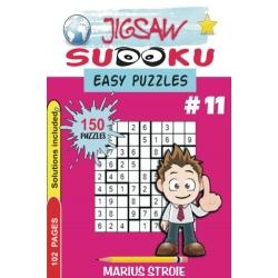 Jigsaw Sudoku - easy - vol. 11