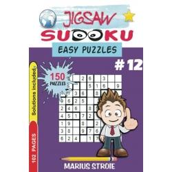 Jigsaw Sudoku - easy, vol. 12