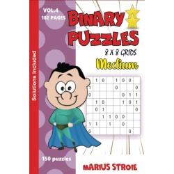 Binary Puzzles - medium, vol. 4