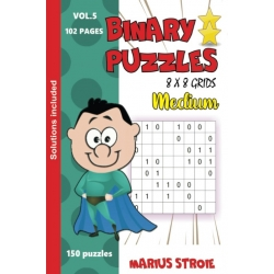 Binary Puzzles - medium, vol. 5