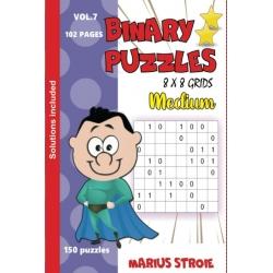 Binary Puzzles - medium, vol. 7