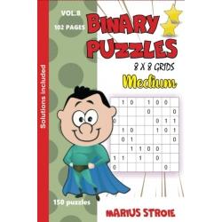 Binary Puzzles - medium, vol. 8