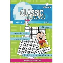 Classic Sudoku - very easy, vol. 9