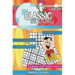 Classic Sudoku - very easy, vol. 4