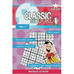 Classic Sudoku - very easy, vol. 7