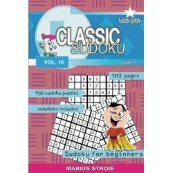 Classic Sudoku - very easy, vol. 10